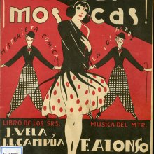 ALONSO, Francisco (1887-1948). Por si las moscas. 1929