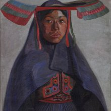 José Sabogal (Perú) La india del Collao, 1925